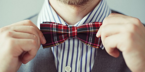 Go Print Clashing With Our Bow Ties