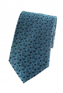 Carter Aqua Floral Tie