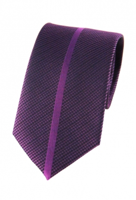 Chance Purple Striped Tie