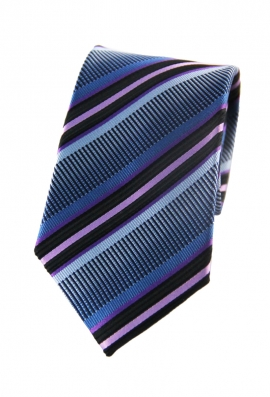 Eli Blue Striped Tie