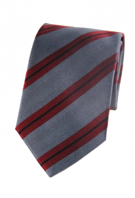 Elliott Red Striped Tie