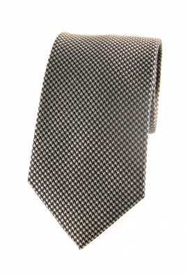 George Black Houndstooth Tie
