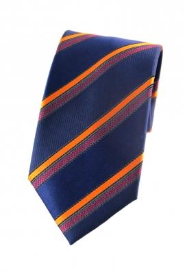 Gilbert Orange Striped Tie