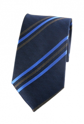 Henry Blue Striped Tie