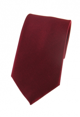 Jonah Red Plain Tie