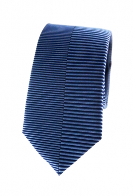 Miles Blue Striped Tie