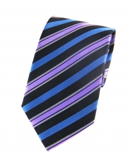 Nathaniel Purple Striped Tie