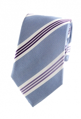 Roberto Blue Striped Tie