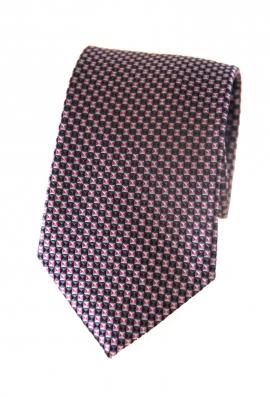 Wesley Pink Print Tie