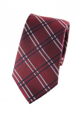 Austin Red Checkered Tie