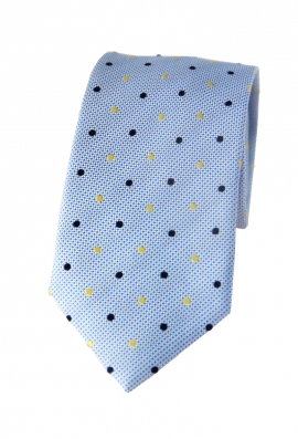Dylan Light Blue Spotted Tie