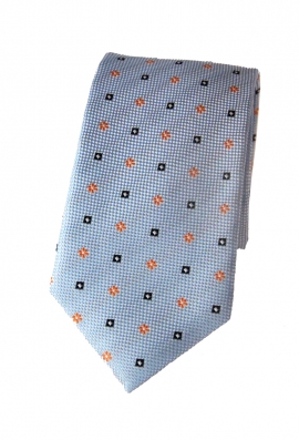 Mason Blue Patterned Tie