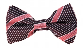 Morgan Striped Bow Tie