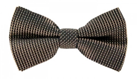 Quincy Ochre Print Bow Tie