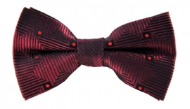 Ronan Striped Bow Tie