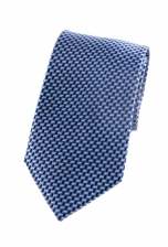 Emery Blue Patterned Tie
