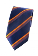 Gilbert Orange Striped Tie