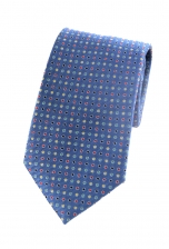 Gregory Blue Spotted Tie