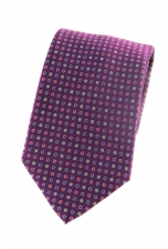 Gregory Purple Spotted Tie