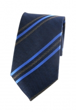 Henry Blue Striped Tie