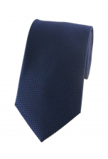 Hugh Blue Checked Tie