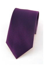 Hugh Purple Checked Tie