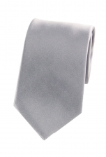Jesse Plain Silver Tie