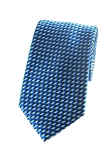 Marcus Blue Checked Tie