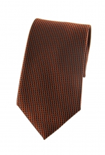 Max Orange Spotted Tie