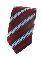 Nathaniel Red Striped Tie
