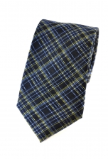 Oscar Blue Checkered Tie