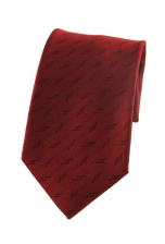 Steven Red Patterned Tie