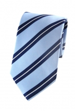 Travis Blue Striped Tie