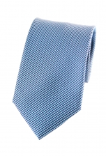 Troy Blue Houndstooth Tie