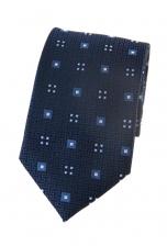 Zane Blue Print Tie