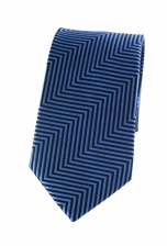 Benjamin Blue Striped Tie