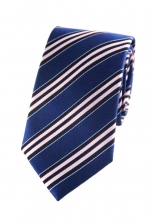 Brandon Pink Striped Tie
