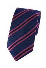 Connor Blue & Pink Striped Tie