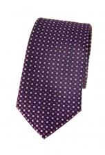 Elijah Pink Spotty Tie