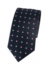 Mason Navy Patterned Tie