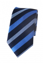 Nathan Blue Striped Tie