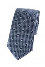 Samuel Silver Blue Print Tie