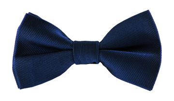 Jaylin Blue Plain Bow Tie