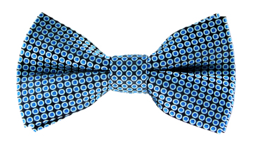 Kelvin Blue Spotty Bow Tie