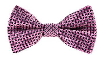 Kelvin Pink Spotty Bow Tie