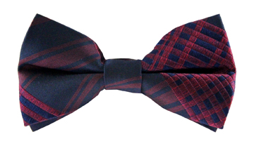 Lawson Checkered Bow Tie