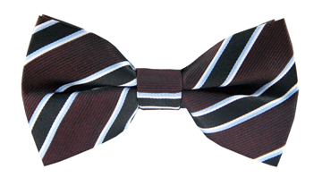 Marco Striped Bow Tie