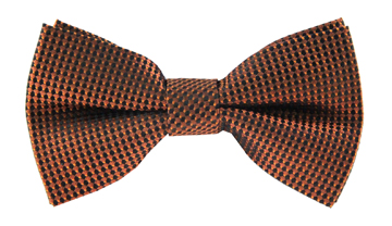Quincy Orange Print Bow Tie