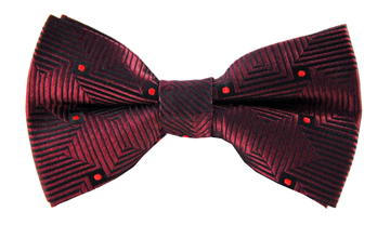 Ronan Striped Bow Tie SMB214-17BT